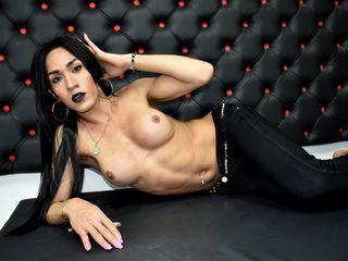 Shemale live latina model GABYBIGCOCK